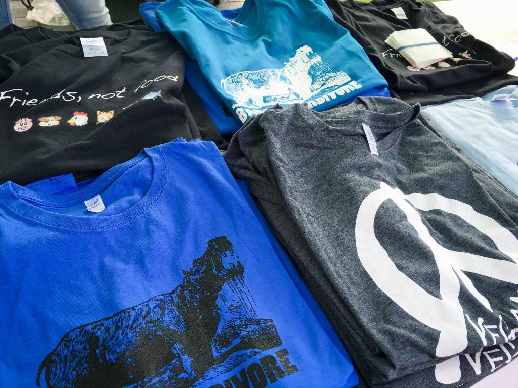 Vegfest Guelph t-shirts