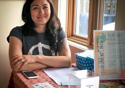 Meredith - Vegfest member
