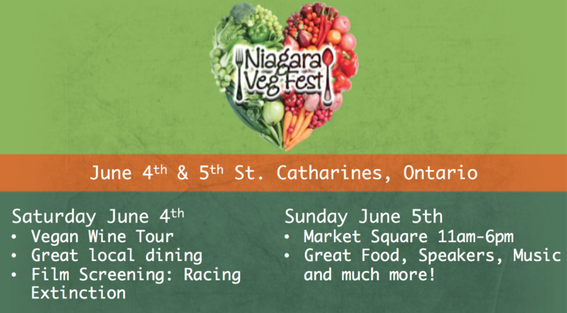 We'll be at Niagara Vegfest June 5!