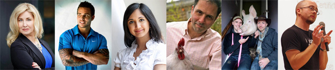 Introducing our speaker line-up for Vegfest Guelph 2016!