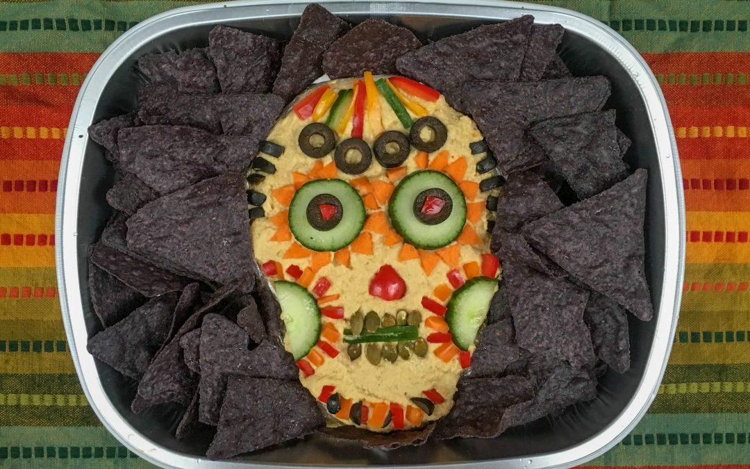 #Halloween hummus inspired by @ForkandBeans!